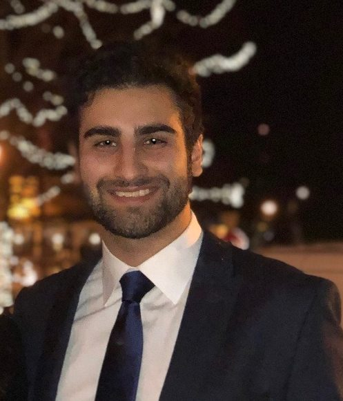 Kayvon Ghahremani : Master student (2019 - current)